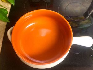 "Terra Cotta Cooking Pan - Italian Hand-Crafted - Micro-Oven-Stove Safe - ""Casseruola Rustica"" for Sale in La Mesa, CA"