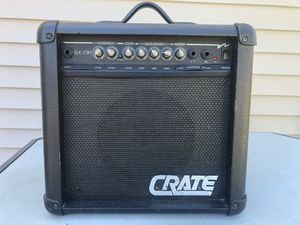 Crate GX-15R Guitar Amp for Sale in Brick Township, NJ