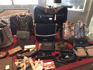 All brands leather and canvas for Sale in Las Vegas, NV