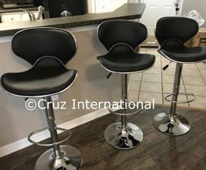 New 3 black stools for Sale in FL, US