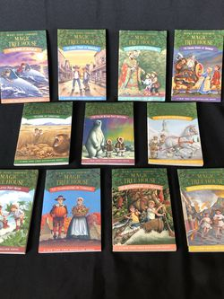 11 Magic Tree House Paperback Books By Mary Pope Osborne for Sale in Bonita,  CA