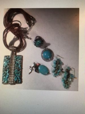 Turquoise jewelry for Sale in Lizton, IN