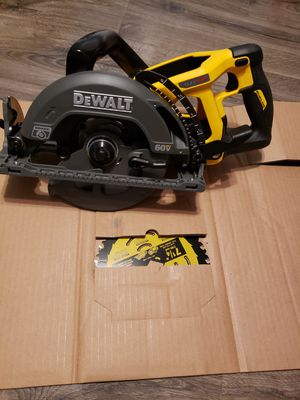 DEWALT FLEXVOLT 60-Volt MAX Lithium-Ion Cordless Brushless 7-1/4 in. Wormdrive Style Circular Saw (Tool-Only) for Sale in East Point, GA