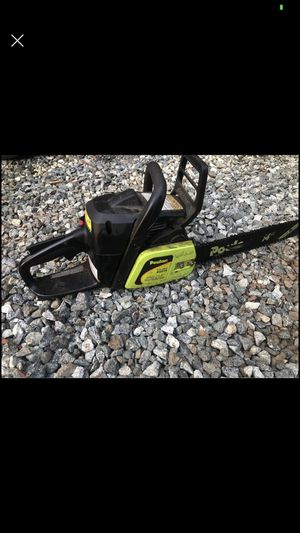 Poulan 14 inch chainsaw nearly new $85 firm for Sale in Burlington, NC