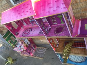 free doll house and a tent for Sale in Indianapolis, IN