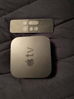 Apple TV with remote 4th gen for Sale in Land O Lakes, FL