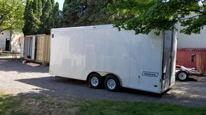 20 ft inclosed trailer for Sale in Vancouver, WA