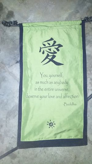 Buddha Quote Scroll for Sale in Phoenix, AZ