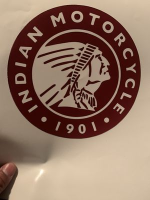 Motorcycle Indian decal sticker for Sale in Fountain Valley, CA