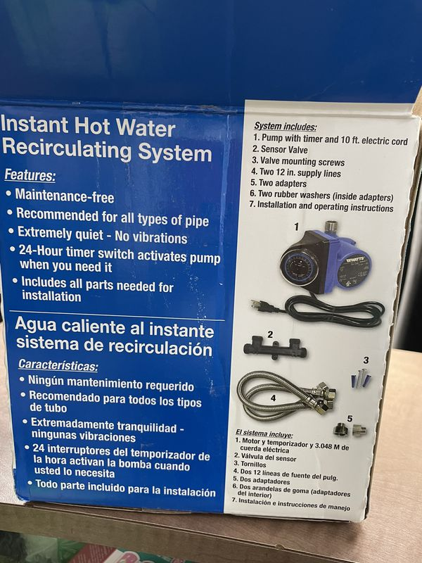 INSTANT HOT WATER /Recirculating System
