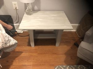 Grey end table for Sale in Cambridge, MA