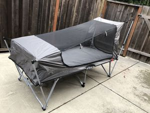 Jet Tent Bunker XL Camping Cot Tent for Sale in Milpitas, CA