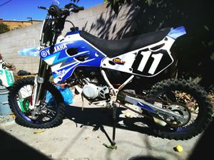 1996 83 cm3 Yamaha track racing green tagged motorcycle for Sale in Anaheim, CA