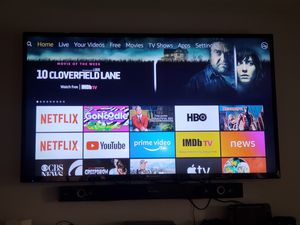 55 inch TV (Element) with Chrome cast for Sale in Riverside, CA