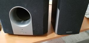 "Onkyo Skw-540 10"" 230w Powered Subwoofer Black Speaker for Sale in Huntington Beach, CA"