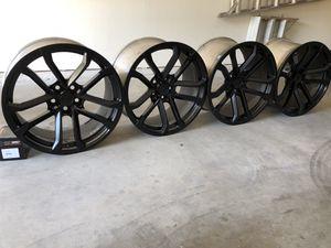 Camaro 20X10 and 20X11 wheels for Sale in Arroyo Grande, CA