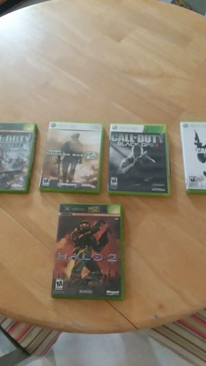 Call of Duty 4 games almost brand-new only been used a couple times for Sale in Chesapeake, VA