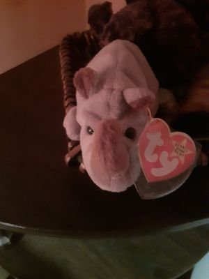 Beanie baby rhino rare collectible for Sale in Newportville, PA