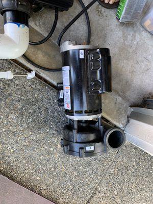 Hot tub pump for Sale in Marysville, WA