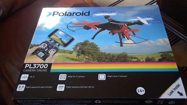 Polaroid camera drone PL3700