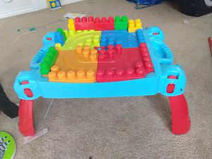 Mega blocks building table for Sale in Fort Worth, TX
