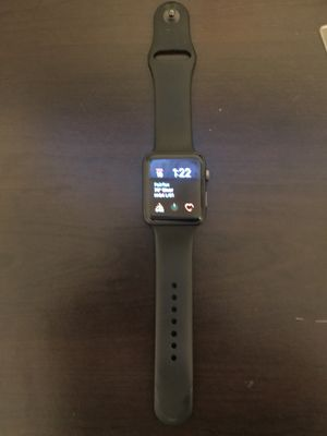 Apple watch series 3 - 42 mm space gray GPS only for Sale in Fairfax, VA