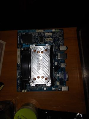 Intel i5 2500K 8GB 1600MHZ RAM &gigabyte GA-H61M-S1 motherboard for Sale in Tulare, CA