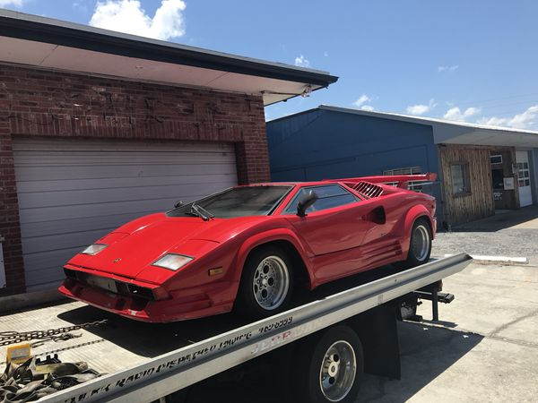 1989 Lamborghini Countach For Sale Replica For Sale In Palm Harbor