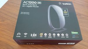 Belkin AC1200 WiFi Dual-Band AC+ GB Router for Sale in Whittier, CA