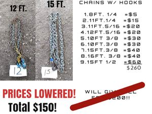 Chains for Sale in Ballinger, TX