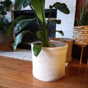 Large Knit Basket for Sale in Seattle, WA