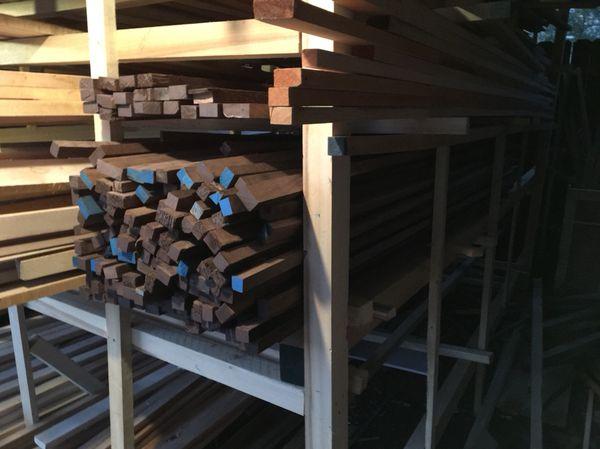 Black Walnut lumber 1x2x10, 2x2x10 for Sale in Dallas, TX - OfferUp