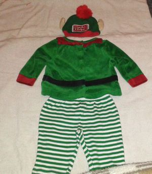 Baby Boy SANTA'S HELPER 3 Piece Outfit (6 mos.) for Sale in Silver Spring, MD