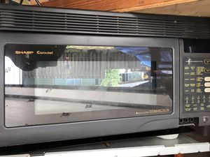 Sharp convection hood mount microwave for Sale in West Linn, OR