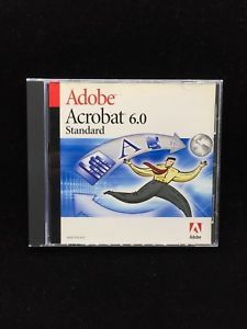 New open Adobe Acrobat 6.0 with key case no box for Sale in Hauppauge, NY