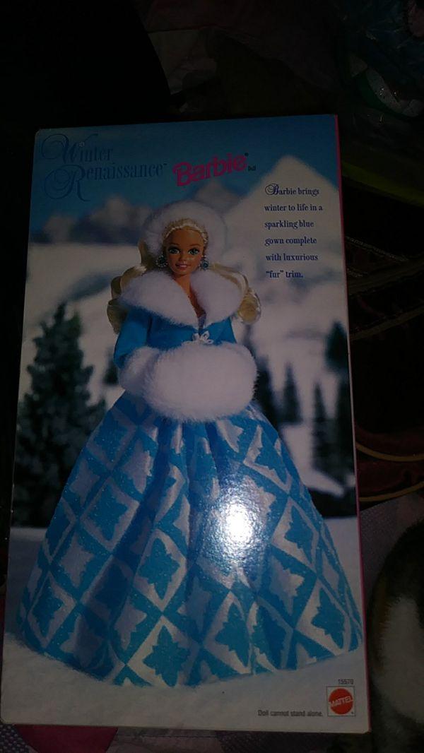 Barbie Winter Renaissance Evening Elegance collection. 1996