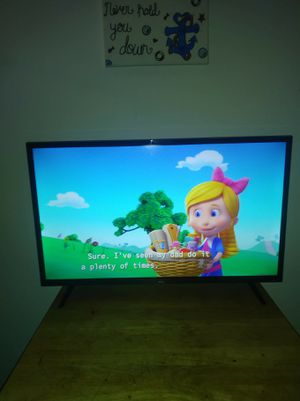 32 inch TCL Roku Smart TV for Sale in Saint Petersburg, FL