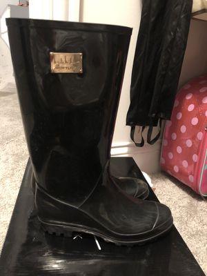 Women's Nicole Miller Rain Boots Size 6 for Sale in Oak Lawn, IL