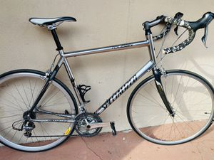 60cm Trek Road Bike Newer Frame Style Carbon Forks Top Of The Line Smooth On The Knees for Sale in Tampa, FL