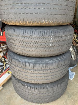 Toyota 4runner rims and tires for Sale in Pineville, NC