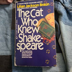 The Cat Who Knew Shakespeare, Lillian Jackson Braun, Paperback for Sale in Kent, WA
