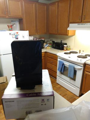 Cable modem and Wi-Fi router for Sale in Winston-Salem, NC