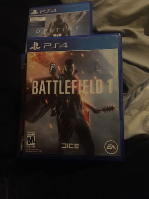 PS4 GAMES, 20 a peice or 120 for all for Sale in Derby, KS
