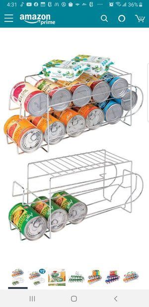 HX - 12 Can Dispenser Space Organizer, 2 Packs for Sale in Santa Ana, CA