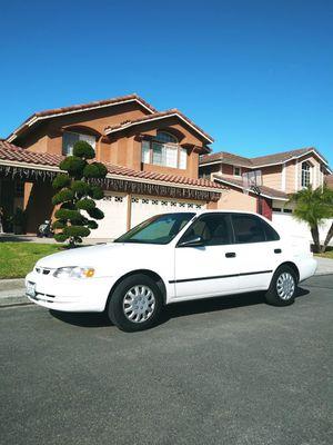 2000 TOYOTA COROLLA 4CYL AUTOMATICO EXCELLENTES CONDICIONES for Sale in Vista, CA