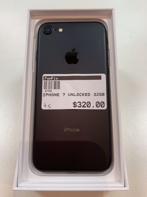 IPhone 7 32gb Unlocked (turbo sim) for Sale in Hollywood, FL