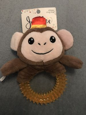 New Dog Chew Toy - Squeaks - Monkey - Puppy for Sale in Sterling, VA