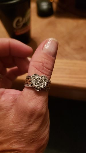 Rings. All white gold. 10 karat, real diamonds. for Sale in Moundsville, WV