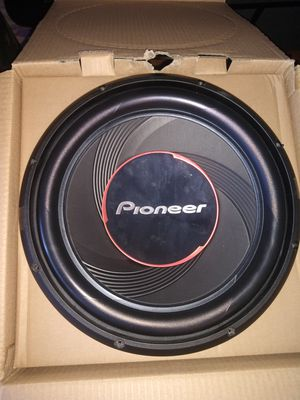 "12"" 1,400w pioneer sub for Sale in Erie, PA"