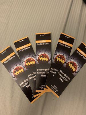 Bella Organic Haunted Cornmaze Tickets for Sale in Portland, OR
